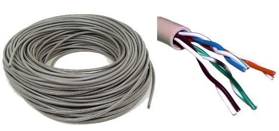 Cablu UTP 8 fire cupru-big