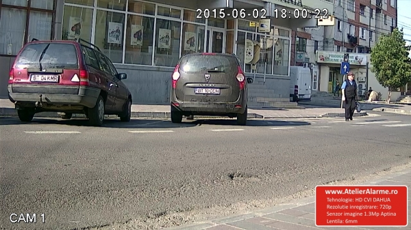 Camera de exterior HDCVI 1.3 Megapixel Fortezza HD-CE13A4LA7-big