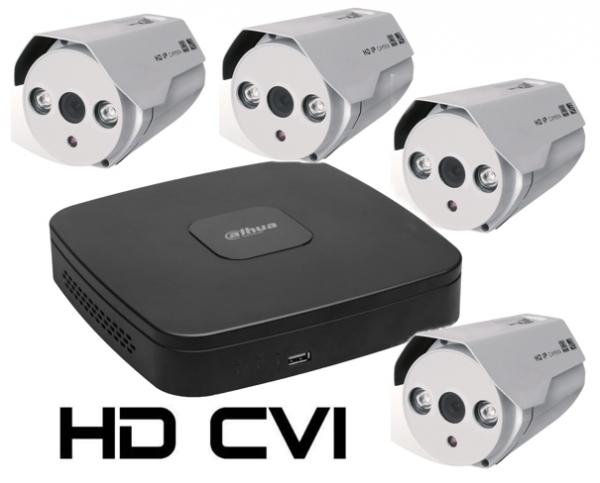 Kit DAHUA supraveghere HD exterior Pro ve04AHD 1.3Mpixeli-big
