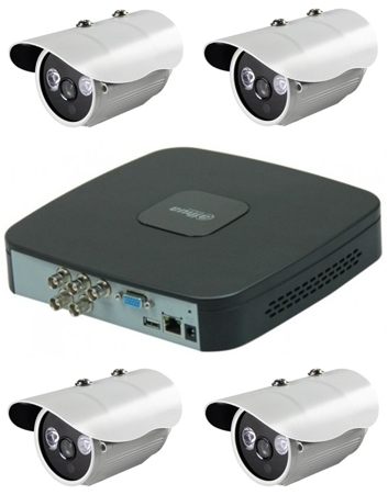 Kit supraveghere video exterior Pro ve04A-big