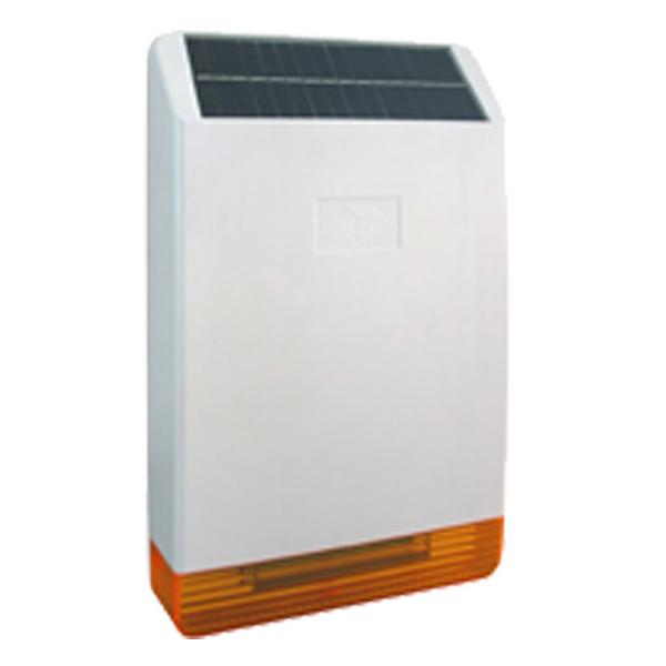 Sirena wireless exterior cu panou solar Fortezza Pro hws04-big