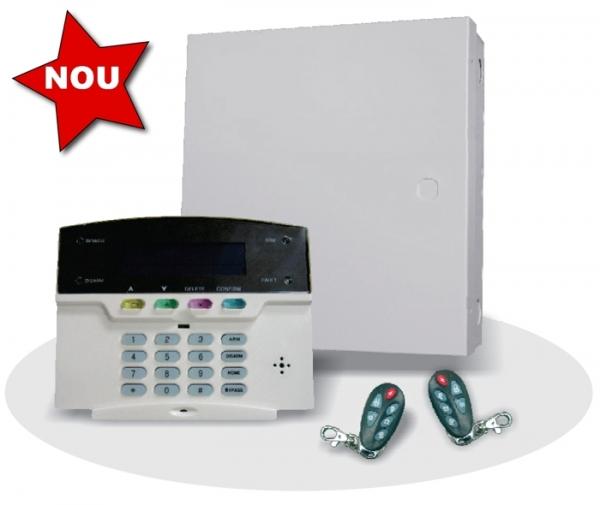 Sistem alarma hybrid (wireless+cablat) FORTEZZA PRO GSM COM1824-big