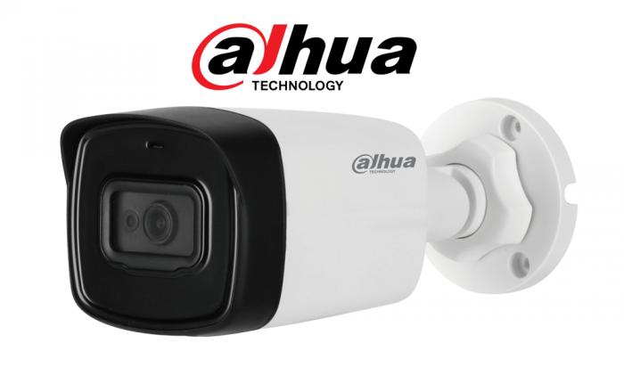 Camera de exterior DAHUA HAC-HFW1200TL, 2 Megapixeli, HDCVI, IR 40m-big