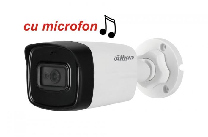 Camera de exterior HDCVI 2 Megapixeli DAHUA HAC-HFW1200TL-A, cu microfon-big