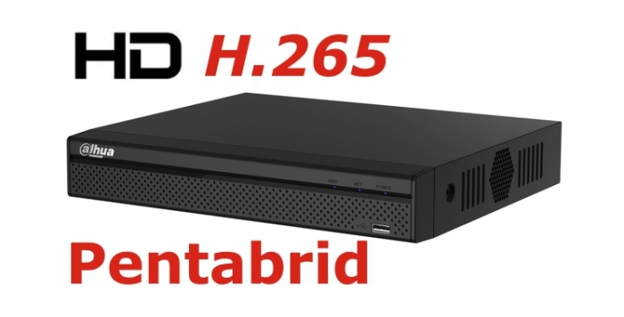 DVR Full HD pentabrid 4+2 camere HD+IP DAHUA XVR5104H-X-big
