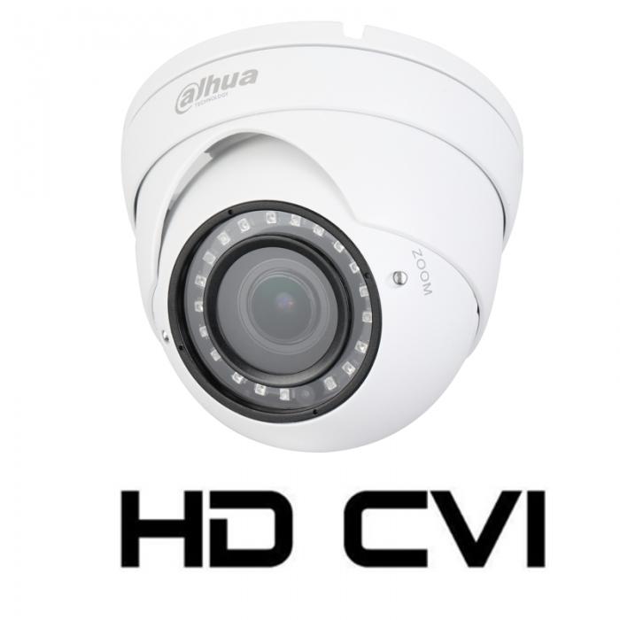 Camera de interior/exterior HDCVI 2 Megapixeli DAHUA HAC-HDW1200R-VF, varifocala-big