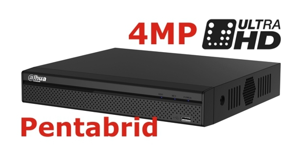 DVR 4MP pentabrid 4+2 camere HD+IP DAHUA XVR5104HS-4M-big