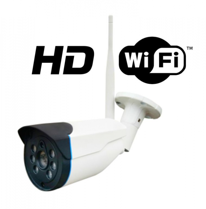 Camera de exterior IP 1 Megapixeli WiFi FORTEZZA IPC-P10e-big
