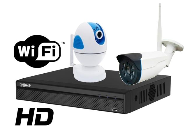 Kit wireless DAHUA IP HD 1 Megapixel supraveghere exterior Pro vm02IPHD_C-big