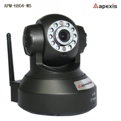 Camera IP wireless de interior mobila Apexis APM-H804-WS