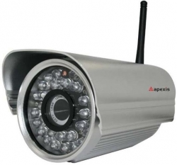 Camera IP wireless de exterior Apexis APM-J602-WS-IR