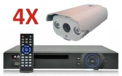 Kit supraveghere video exterior Pro ve04C