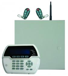 Sistem alarma hybrid (wireless+cablat) FORTEZZA PRO GSM COM8832