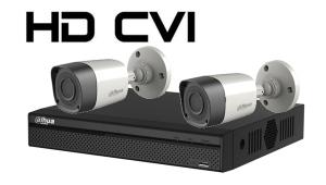 Kit DAHUA supraveghere HD exterior Pro ve02A_HD 1Megapixel