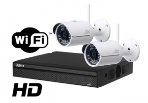 Kit wireless DAHUA IP HD 3 Megapixel supraveghere exterior Pro ve02IPHD_B